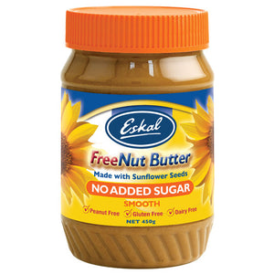 Eskal Free Nut Butter 450g – No Added Sugar