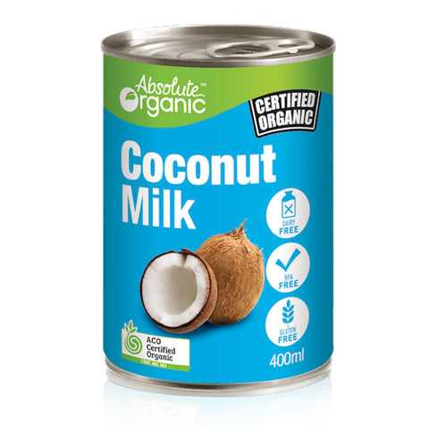 Absolute Organic Coconut Milk 400ml