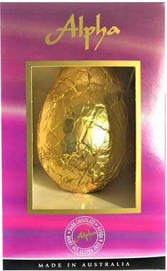 Alpha Dairy Free Chocolate Egg 150g  - Available now