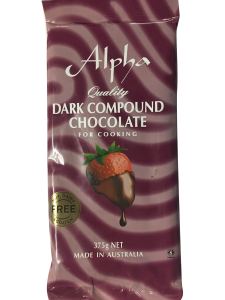 Alpha Dark Compound Chocolate
