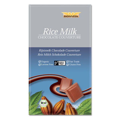Bonvita Rice Milk Chocolate Bar 100g
