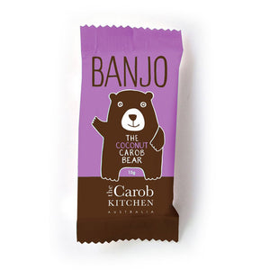 Carob Kitchen Banjo Bear - COCONUT