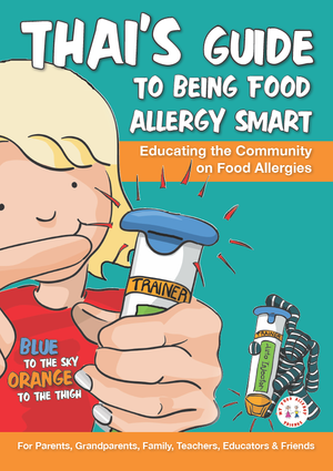 Jackie Never - Thai's Guide To Being Food Allergy Smart