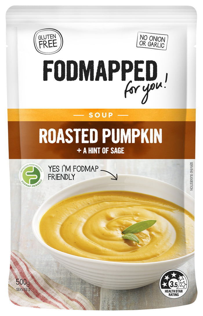 Fodmapped Roasted Pumpkin Soup 375g