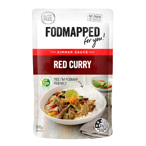 Fodmapped Red Curry Simmer Sauce 375g