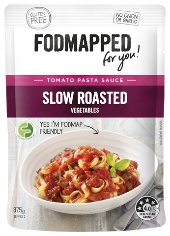 Fodmapped Slow Roasted Vegetables Pasta Sauce 375g