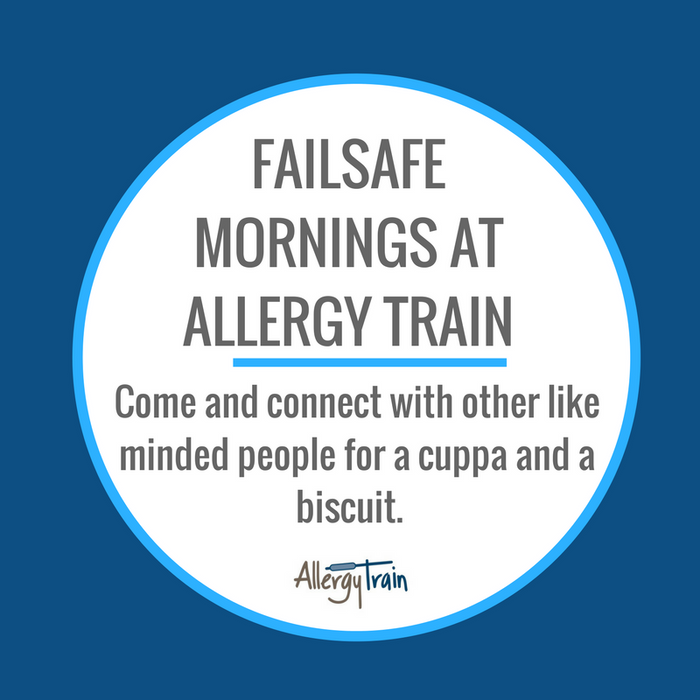 FAILSAFE MORNINGS AT ALLERGY TRAIN - 1 ADULT SESSION