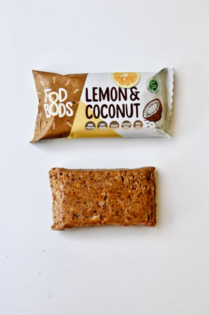 Fodbods Protein Bar- Lemon Coconut