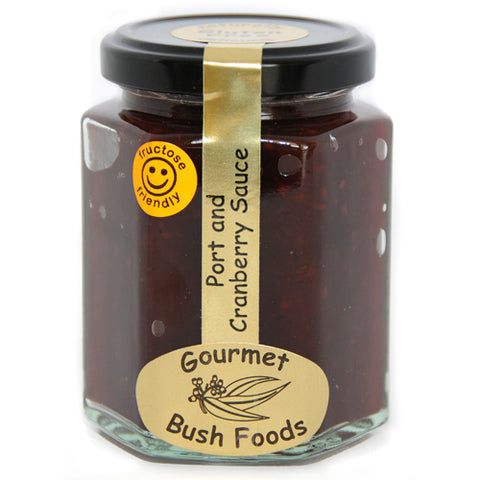 Gourmet Bush Foods – Port & Cranberry Sauce