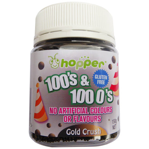 Hopper 100s and 1000s Gold Crush 150g