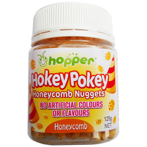 Hopper Hokey Pokey Bake Stable Honeycomb Pieces 125g