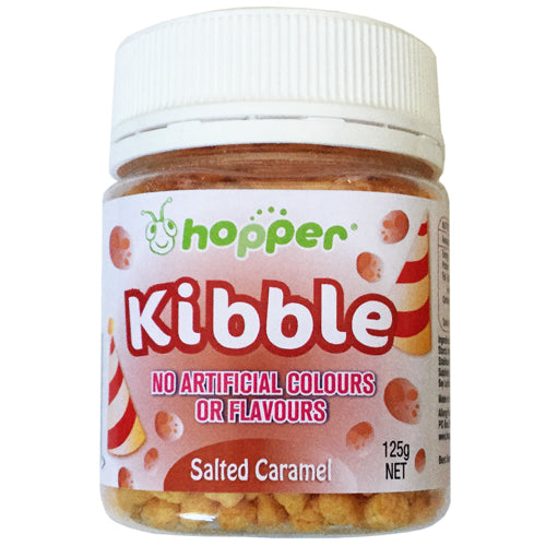 Hopper Kibble – Salted Caramel 125g BB AUG 20