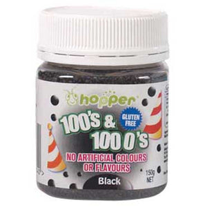 Hopper 100s and 1000s Black 150g