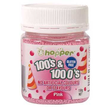 Hopper 100s and 1000s Pink 150g