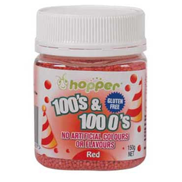 Hopper 100s and 1000s Red 150g