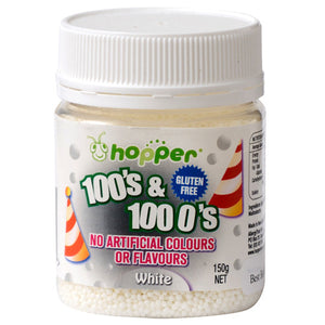 Hopper 100s and 1000s White 150g