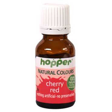 Hopper Natural Colouring Cherry Red 20g