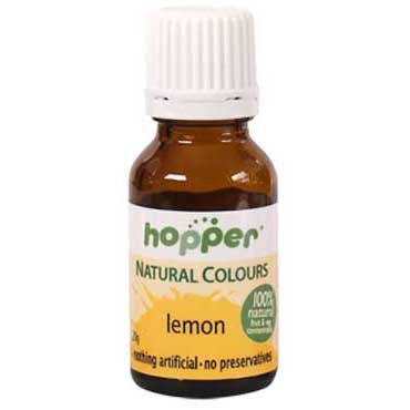 Hopper Natural Colouring Lemon Yellow 20g