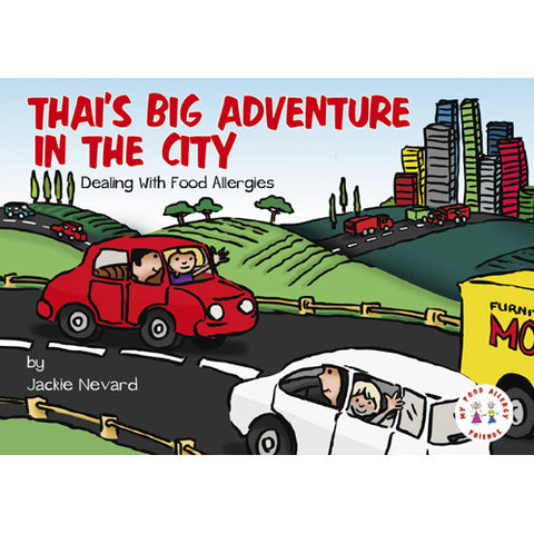 Jacki Nevard's Thai's Big Adventure in the City
