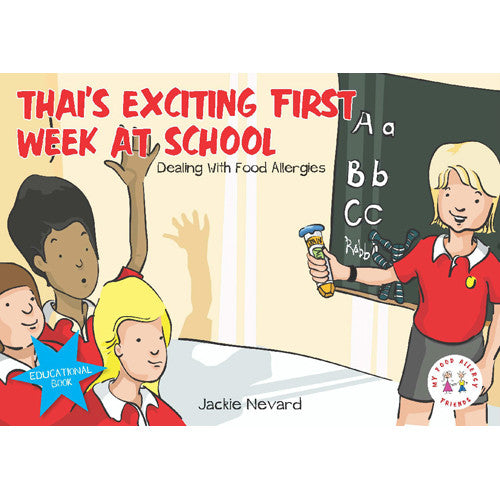 Jackie Nevard - Thai's Exciting First Week at School