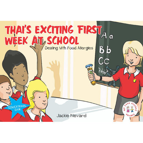 Jacki Nevard's Thai's Exciting First Week at School