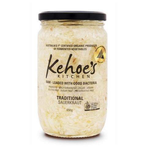 Kehoes Kitchen Traditional Sauerkraut – 650g