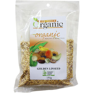 Life Force Organic Golden Linseed