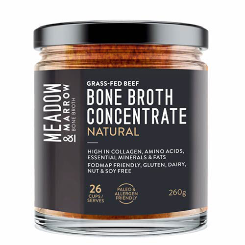 Meadow & Marrow Bone Broth Concentrate – Natural 260g