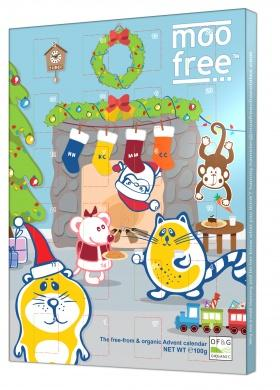 Moo Free Dairy Free Chocolate Advent Calendar