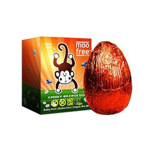 MooFree Cheeky Orange Chocolate Egg – Past best before