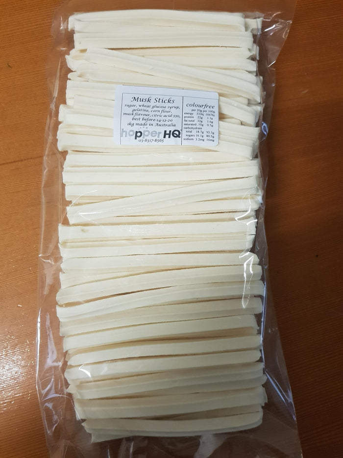 BB White Musk Sticks BULK 1kg
