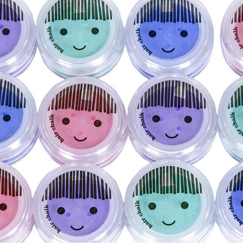 No Nasties Happy Hair Chalk – 4 Colours – Blue, Green, Purple, Red