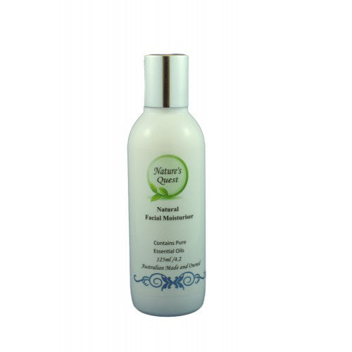 Nature's Quest Facial Moisturiser 125ml