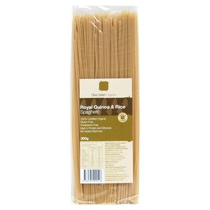 Olive Green Organics Quinoa and Rice Spaghetti 300g - unavail til May