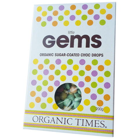 Organic Times Little Gems Chocolate Drops 200g