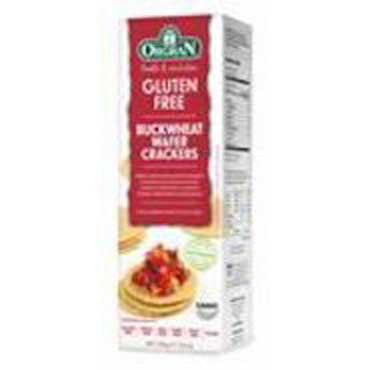 Orgran Wafer Crackers with Buckwheat 100g
