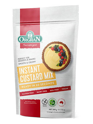 Orgran Instant Custard Mix 200g