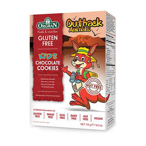 Orgran Outback Animals Chocolate Cookies -  175g