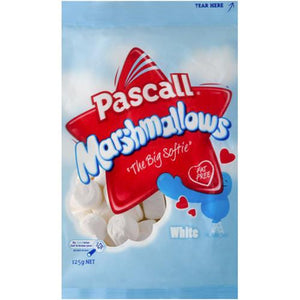 Pascall White Marshmallows 125g - BB Oct 20