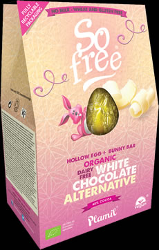 So Free Dairy Free White Easter Egg - Available Now