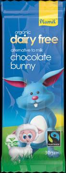 Plamil Organic Fairtrade Milky Dairy Free Bunny Bar 25g - NEW STOCK IN