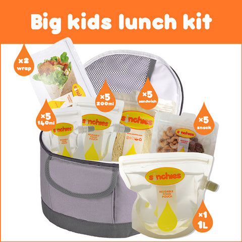 Sinchies BIG KIDS Lunchbox Kit