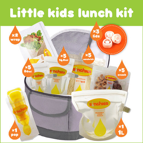 Sinchies LITTLE KIDS Lunchbox Kit