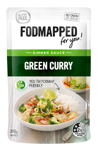 Fodmapped Green Curry Sauce