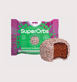 SuperOrbs Cacao Crunchy Choc, Oats & Chia