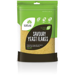 Lotus Nutritional Savoury Yeast Flakes 500g
