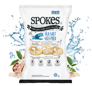 Spokes Air Puffed Potato Snack