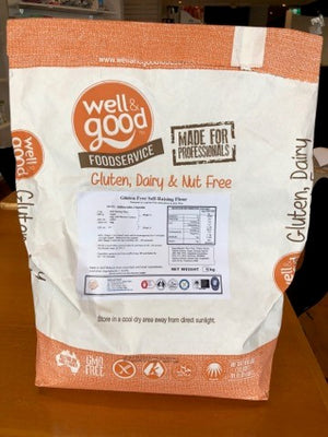 Well and Good Self Raising Flour Blend  BULK 5kg