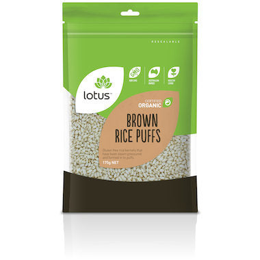 Lotus Puffed Brown Rice - Crunchy 300g