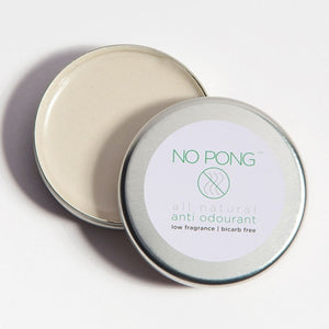 No Pong Low Fragrance Deoderant